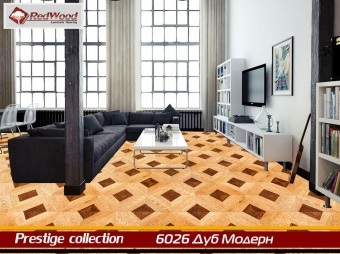 Ламинат RedWood Prestige collection Дуб модерн 6026